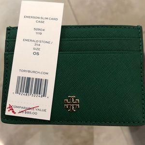 Tory Burch Emerson card case